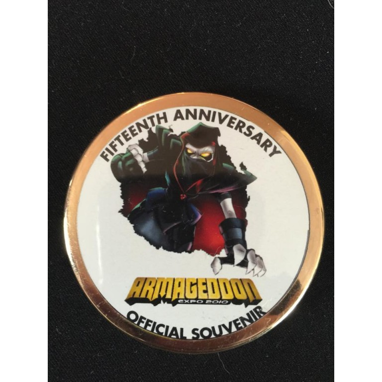 15th Anniversary event badge