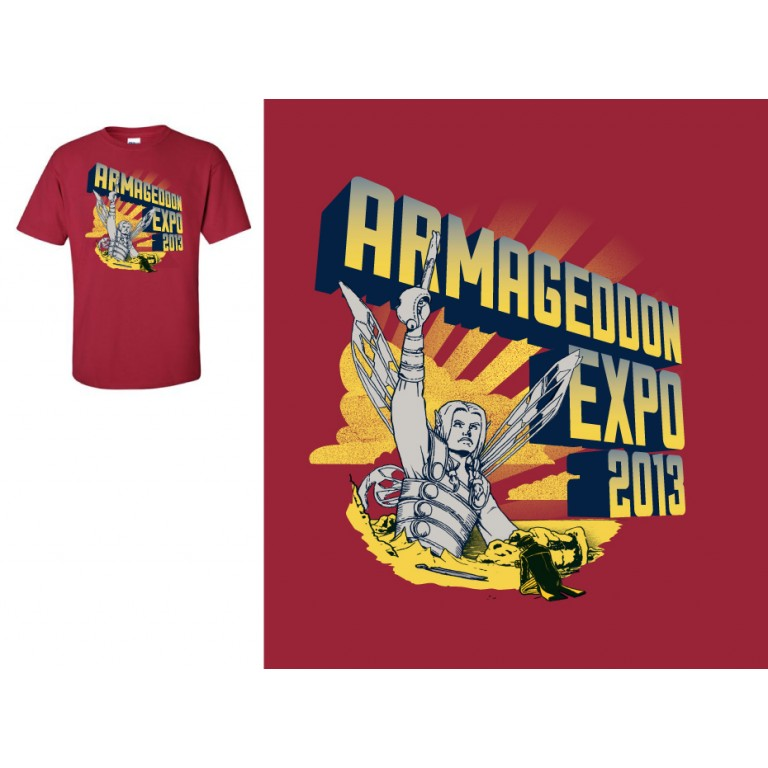 2013 Armageddon T-Shirt - Medium