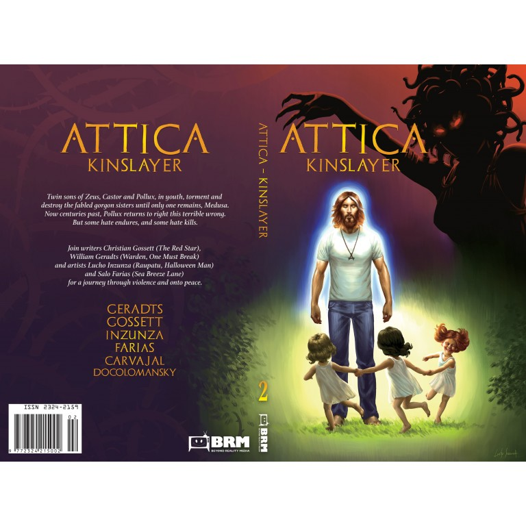 Attica: Kinslayer - Graphic Novel
