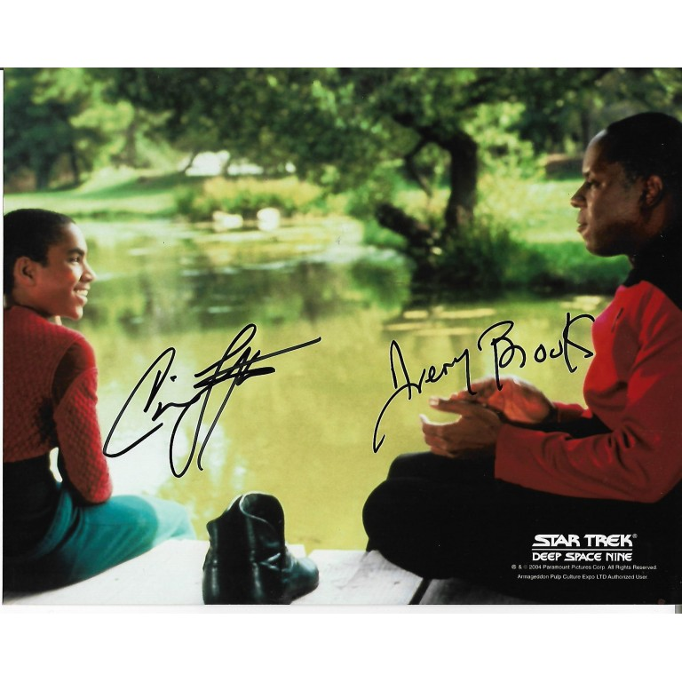 Avery Brooks + Cirroc Lofton - Star Trek Deep Space Nine