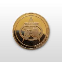 Star Trek: The Next Generation 30th Anniversary 2017 Las Vegas Convention Coin