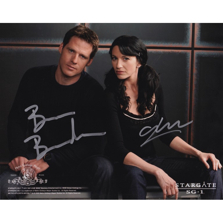 Ben Browder and Claudia Black - Stargate SG1