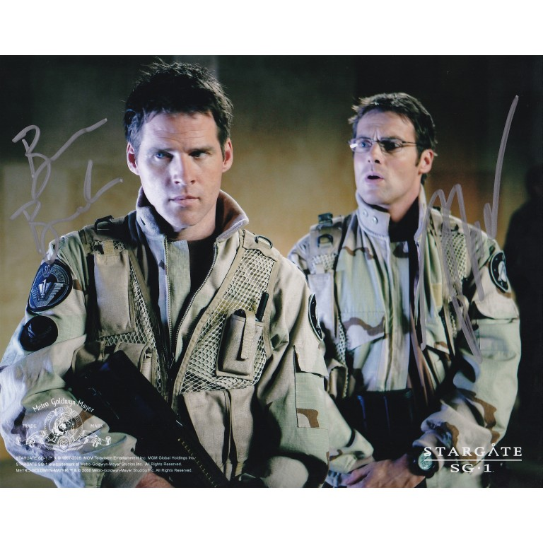 Ben Browder and Michael Shanks - Stargate SG1