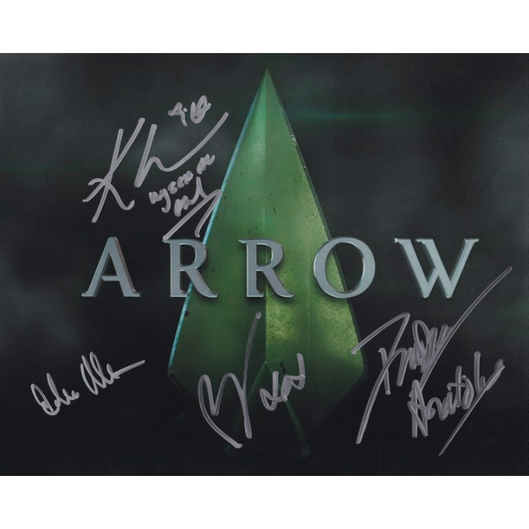 Arrow Cast - Paul Blackthorne, Echo Kellum, Katrina Law, David Nykl