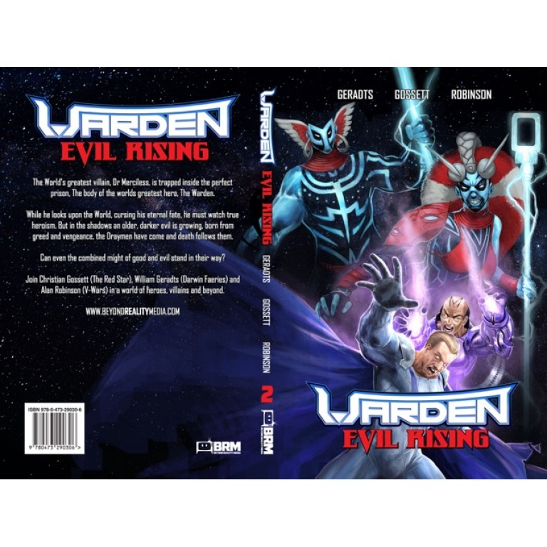 The Warden: Evil Rising - Volume Two - Graphic Novel